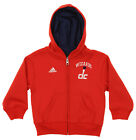 Adidas NBA Toddlers Washington Wizards Pledge Full-zip Hoodie, Red