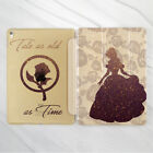 Beauty And The Beast Art Gold Smart Cover Case For iPad Pro