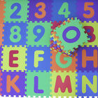 LARGE 32cm Alphabet Numbers EVA Floor Mat Baby Rooms Kids Protection 36pcs UK