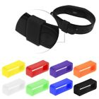 Silicone Anti-Fall Buckle Ring Loop Keeper Holder For Smart Bracelet Watch Band image