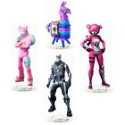 Fortnite Llama Pink Bear Bunny Skin Skull Trooper Acrylic Stand Figure Toy