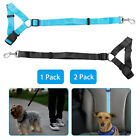 Pet Dog Cat Car Safety Seat Belt Harness Restraint Lead Travel Collar Adjustable