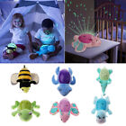 Baby Night Light Projector Lamp Bedroom Plush Stuffed Toy Mu