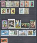 Selection of 12 Used Stamps from Angola/Mocambique/Macau & 10 from Anguilla