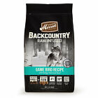 Merrick Backcountry Grain Free Raw Infused Game Bird Dry Dog Food