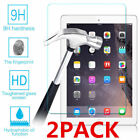2x Tempered Glass Screen Protector For Apple iPad 2 3 4 Pro 9.7 Mini Air 5 10.5