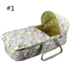 New Baby Moses Basket Safe Newborn Travel Bed Bassinet Carrier Cradle With Hood