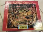 """Charles Wysocki """"Fork in the Road"""" Seasonal Splendor 1000-Piece Puzzle Incomplet"""