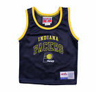 NBA Basketball Boys Toddler Indiana Pacers Mesh Team Jersey, Navy Blue