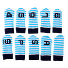 10x Golf Iron Club Head Covers with Numbers Knit Sock Headcover Iron Covers