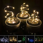 LED Fairy Light Solar Lid Lights for Outdoor Christmas Yard Garden 1pc Decor