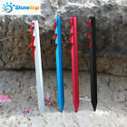 10 Pack Tent Stakes Pegs Heavy Duty Nail Head Solid Steel Metal Bounce House