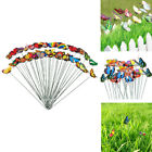 50x Planter Butterfly Stakes Decorative Dragonfly Stakes Lawn Garden Decor