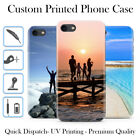 PERSONALISED CUSTOM PRINTED PHOTO PICTURE HARD PHONE CASE COVER FOR IPHONE