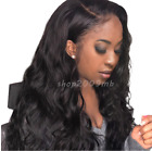 250% Density Lace Front Wigs Pre Plucked+Baby Hair Black Body Wave Brazilian Wig