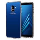 For Galaxy A8 A8 Plus | Spigen®[Liquid Crystal] Clear Protective Case Cover
