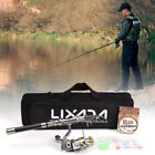 Fishing Rod And Reel Combo Spinning Fishing Reel Gear Organizer Pole Kit D8G7
