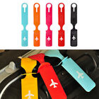 Korean Style Luggage Tag PVC Soft Fashionable Suitcase Label Travel Accessoriess