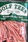 200 Professional Bagged Hardwood Golf Tees Free Shipping Made in USA