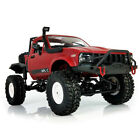 mini truck chassis - WPL C14 1:16 2.4G 2CH 4WD Mini Off-road 15km/h RC Semi-truck with Metal Chassis
