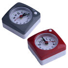 Mini Travel Alarm Clock Desk Bed Clocks Kids Bedroom Non Ticking Snooze Light