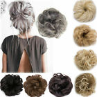 Kyпить Curly Messy Bun Hair Piece Scrunchie Updo Cover Hair Extensions Real as human на еВаy.соm