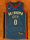 0 Russell Westbrook Adult  Youth Sizes Oklahoma City Thunder Stitched Jersey