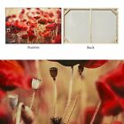 Hand-painted Modern Art Wall Decor Abstract Oil Painting on Canvas Red Flower QE