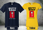 Betty Boop Sneakers T-Shirt Navy&Tellow Funny Shirt Tee New  4 $26.99 USD on eBay
