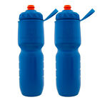 2pk Insulated Water Bottle Set, 24oz Water Bottle Handheld Squeeze, Polar Bottle