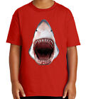 3D Shark Kid's T-shirt Great for Aqua Water Park Tour Tee for Youth - 2056C