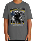 US Army Soldier Kid's T-shirt Full Battle Rattle Tee for Youth - 2054C