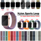 38mm/42mm Nylon Woven Sport Loop iWatch Band Strap for Apple Watch Series 3/2/1 image