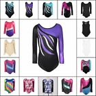 Kyпить 3-14Y Kid Girls Shiny Ballet Dancewear Gymnastics Leotards Athletic Tank Suit US на еВаy.соm