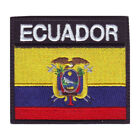 Ecuador Flag Badge Embroidered Patch