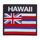 Hawaii Flag Badge Embroidered Patch