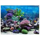 Underwater 4 Styles Aquarium Background Poster Fish Tank Wall Decoration Sticker