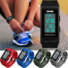 SKMEI Men Women Sport Pedometer Calories Alarm Bracelet Waterproof Digital Watch image