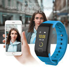 F1 Color Fitness Blood Pressure Oxygen Heart Rate Monitor Smart Watch Bracelet