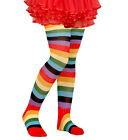 CHILD SIZE RAINBOW TIGHTS FANCY DRESS ACCESSORY 75 DEN PANTYHOSE for sale  Shipping to United States
