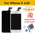 Front LCD Touch Screen Assembly Replacement For iPhone5 A1428 A1429 A1442+Button