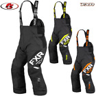 New2019 FXR Men's Team FX Snowmobile Pants Bibs Black/Hi-vis/Orange LG XL 2X 3X