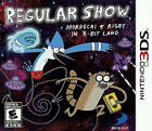 Brand New Regular Show: Mordecai and Rigby in 8-bit Land - Nintendo 3DS