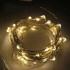 50 LED 5M Copper Wire Twinkle Light Warm/Cool White String Fairy Lights