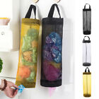 Grocery Bag Holder Wall Mount Storage Dispenser Plastic Home Kitchen Organizer