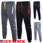 athletic pants for men - Men's Skinny  Pants Training Sweat Sports Gym Athletic Pants Trousers US STOCK