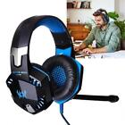 EACH Gaming Headphones Headset Earphone Headband with Mic for PC Gamer Laptop UP