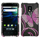 For LG Optimus G2X P990 Diamond Diamante Bling Rhinestone Case Cover