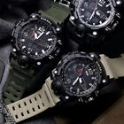 SMAEL SL1545 Waterproof Digital Analog Sports Watch for Mens Boys Military Alarm image