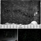 7AE7 Glow In The Dark Wall Sticker Luminous Star Map Astronomy Constellation